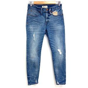 "Madewell | 9"" High Rise Skinny Jeans"